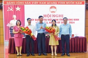 Quảng Ninh: Hiệp thương Phó Chủ tịch Ủy ban MTTQ tỉnh khóa XI