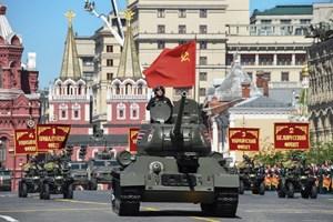 Hình ảnh lễ diễu binh mừng ngày Chiến thắng trên Quảng trường Đỏ