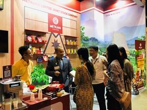 Cà phê Mê Trang thu hút nhiều đối tác tại Hội chợ Thực phẩm và Đồ uống Hồng Kông