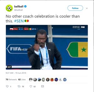 HLV Senegal 'chất nhất' World Cup 2018