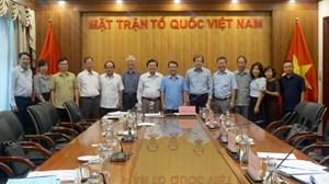 BẢN TIN MẶT TRẬN: Hội nghị nghiệm thu đề tài khoa học 'Thuật ngữ Mặt trận Tổ quốc Việt Nam' giai đoạn III