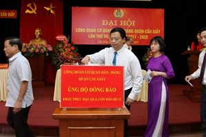 Hỗ trợ đồng bào miền Trung, Tây Nguyên khắc phục bão lũ