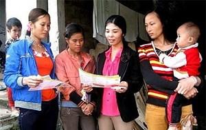 Hỗ trợ hoạt động bình đẳng giới vùng dân tộc thiểu số