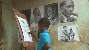 Họa sỹ tuổi 11 và bộ sưu tập tranh vẽ đáng kinh ngạc