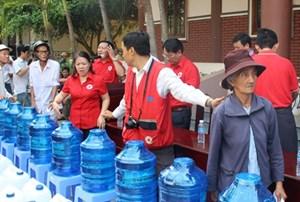 Hội Chữ thập đỏ cứu trợ khẩn cấp hơn 950 triệu đồng
