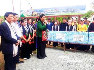 Hội đồng dân tộc Quốc hội làm việc tại Làng Văn hoá - Du lịch các dân tộc Việt Nam