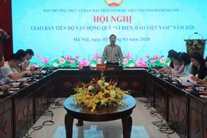 Hà Nội: Hơn 4,6 tỷ đồng ủng hộ Quỹ 'Vì biển đảo Việt Nam'