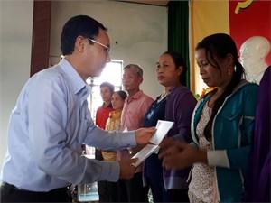 Hơn 1,5 tỷ đồng hỗ trợ đồng bào bão lũ tỉnh Quảng Nam