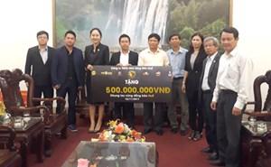 Hơn 3 tỷ đồng hỗ trợ người dân vùng lũ Thừa Thiên - Huế