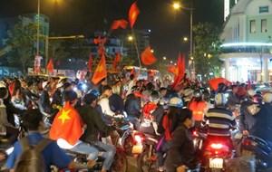 Huế: Hàng vạn người hô vang 'Việt Nam- Vô địch'