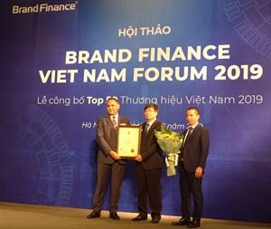 VNPT vươn lên vị trí Á quân giá trị thương hiệu tại Việt Nam
