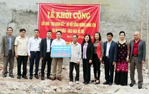 Hưng Yên: Hỗ trợ xây dựng nhà Đại đoàn kết cho hộ nghèo