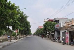 Huyện Nghĩa Hưng (Nam Định) đạt chuẩn nông thôn mới