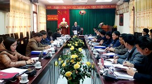 Kiểm tra công tác cán bộ, Đảng viên tại tỉnh Hà Giang
