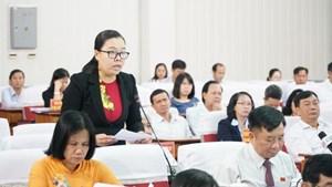 Vĩnh Long: Hội đồng nhân dân tỉnh thảo luận nhiều vấn đề cử tri quan tâm