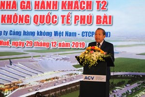 Khởi công Nhà ga hành khách T2, Cảng Hàng không quốc tế Phú Bài