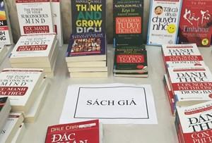 Cảnh báo các trang mạng bán sách giả