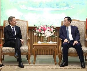 Việt Nam cam kết mở cửa dịch vụ tài chính