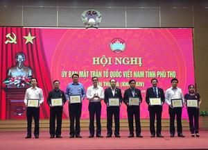 Phú Thọ: 225 cá nhân nhận Kỷ niệm chương 'Vì sự nghiệp đại đoàn kết dân tộc' năm 2019