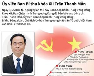 [Infographics] Ủy viên Ban Bí thư khóa XII Trần Thanh Mẫn