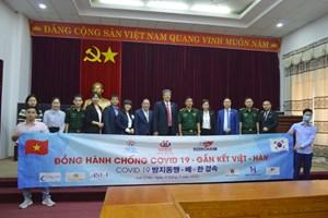 VKBIA hỗ trợ đầu tư nước ngoài và chống dịch Covid-19 tại Lai Châu
