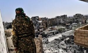 IS thất thủ tại thành trì Raqqa