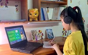 Đảm bảo 100% học sinh được học tập qua internet