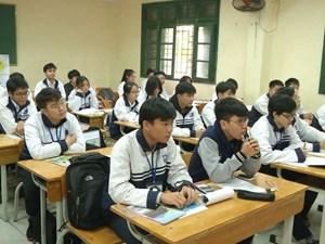 Học sinh Hà Nội đăng ký 11/12 môn thi học sinh giỏi quốc gia