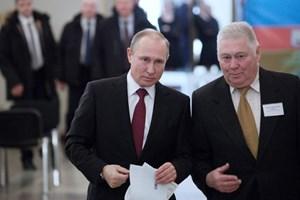 Kết thúc bỏ phiếu bầu cử Tổng thống Nga, ông Putin đang chiếm ưu thế