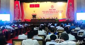 Khai mạc Đại hội Công đoàn TP Hồ Chí Minh lần thứ XI