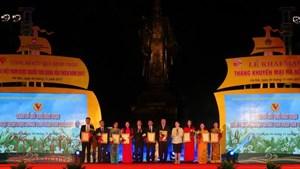 Khai mạc Hội chợ Vàng khuyến mại và sự kiện khởi nghiệp cùng doanh nghiệp