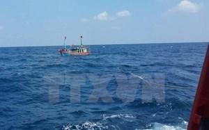 Khẩn trương tìm kiếm tàu cá cùng 2 ngư dân mất tích trên biển