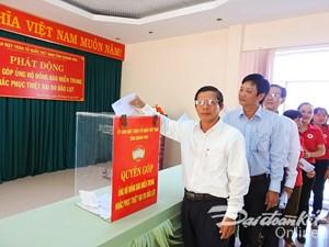 Khánh Hòa: Phát động ủng hộ đồng bào miền Trung khắc phục thiệt hại do mưa lũ