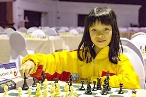 Khánh Linh sớm vô địch U10 cờ vua nữ châu Á