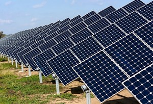Khởi công dự án nhà máy điện mặt trời lớn nhất Việt Nam