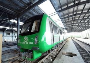 Không lùi tiến độ khai thác thương mại đường sắt Cát Linh-Hà Đông