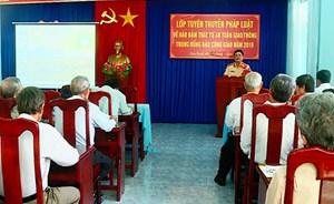 Khánh Hòa: Tuyên truyền Luật Giao thông đường bộ cho đồng bào Công giáo