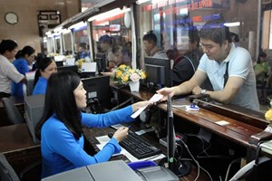 Khuyến cáo hành khánh mua vé tàu Tết