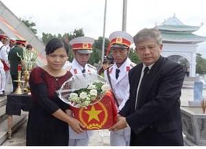 Kon Tum:Tổ chức lễ viếng, truy điệu và an táng 15 hài cốt liệt sĩ