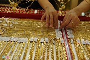 Giá vàng lại có xu hướng chững