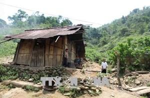 Lai Châu:23 hộ dân vẫn chưa được di dời về nơi ở an toàn