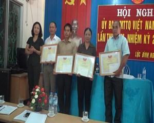 Lạng Sơn: Biểu dương chủ tịch MTTQ cấp xã và Trưởng ban Công tác Mặt trận tiêu biểu