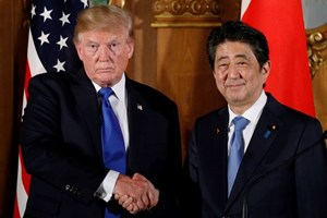Lãnh đạo Mỹ và Nhật Bản thảo luận về quan hệ thương mại