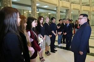 Lãnh đạo Triều Tiên tham dự buổi diễn nghệ thuật của Hàn Quốc