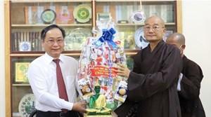 Lãnh đạo tỉnh Khánh Hòa thăm, chúc mừng Đại lễ Phật đản năm 2020