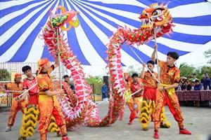 Lễ hội Cầu Bông ở làng rau Trà Quế hơn 500 tuổi