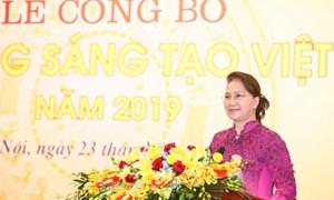 BẢN TIN MẶT TRẬN: Lễ công bố 'Sách vàng Sáng tạo Việt Nam' năm 2019.