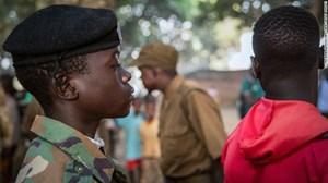 LHQ giải thoát hàng trăm chiến binh nhí ở Nam Sudan