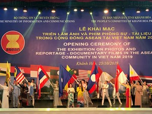 Khánh Hòa: Khai mạc Triển lãm Ảnh và Phim phóng sự - Tài liệu về Đất nước, con người trong cộng đồng ASEAN