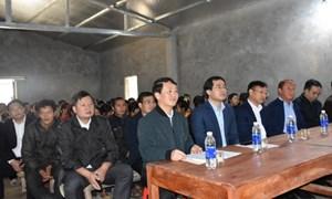 BẢN TIN MẶT TRẬN: Phó Chủ tịch - Tổng Thư ký Hầu A Lềnh dự Ngày hội Đại đoàn kết toàn dân tộc thôn Sín Chải, tỉnh Lào Cai